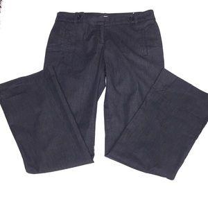 Ann Taylor LOFT Career Pants Blue Size 4 Trousers